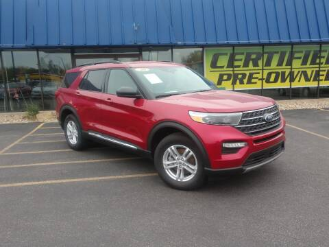 2020 Ford Explorer for sale at CITY SELECT MOTORS in Galesburg IL