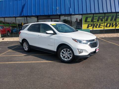 2019 Chevrolet Equinox for sale at CITY SELECT MOTORS in Galesburg IL