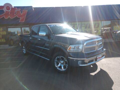 2016 RAM Ram Pickup 1500 for sale at CITY SELECT MOTORS in Galesburg IL