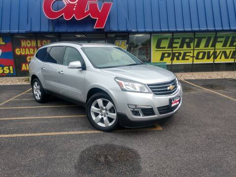 2017 Chevrolet Traverse for sale at CITY SELECT MOTORS in Galesburg IL