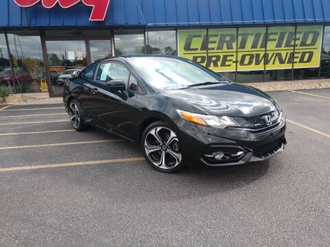 2015 Honda Civic for sale at CITY SELECT MOTORS in Galesburg IL