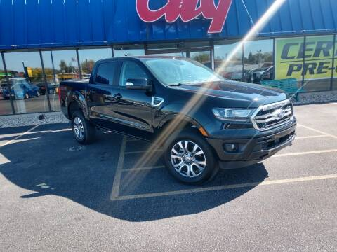 2019 Ford Ranger for sale at CITY SELECT MOTORS in Galesburg IL