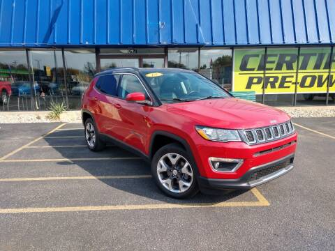 2018 Jeep Compass for sale at CITY SELECT MOTORS in Galesburg IL