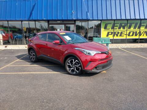 2018 Toyota C-HR for sale at CITY SELECT MOTORS in Galesburg IL