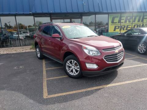 2016 Chevrolet Equinox for sale at CITY SELECT MOTORS in Galesburg IL