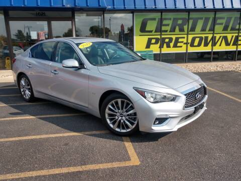 2019 Infiniti Q50 for sale at CITY SELECT MOTORS in Galesburg IL