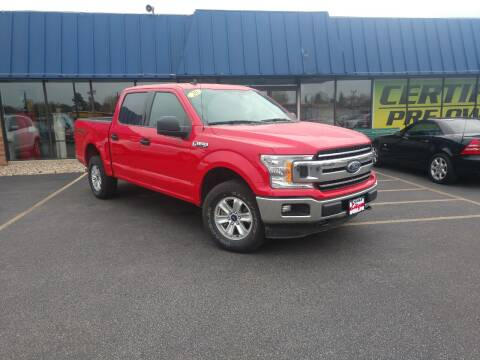 2020 Ford F-150 for sale at CITY SELECT MOTORS in Galesburg IL
