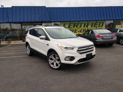 2017 Ford Escape for sale at CITY SELECT MOTORS in Galesburg IL