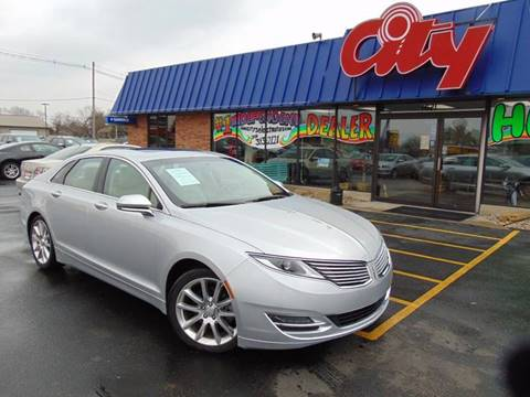 2015 Lincoln MKZ for sale at CITY SELECT MOTORS in Galesburg IL