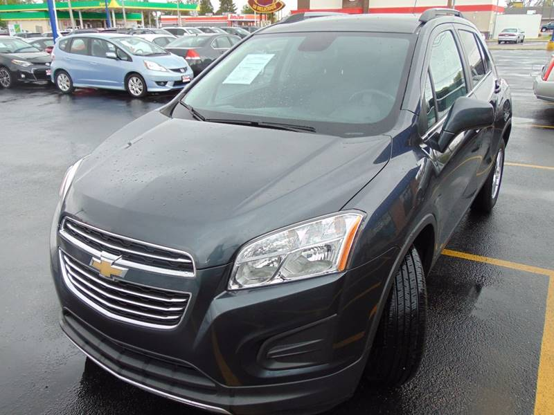 2016 Chevrolet Trax LT 4dr Crossover w/1LT - Galesburg IL