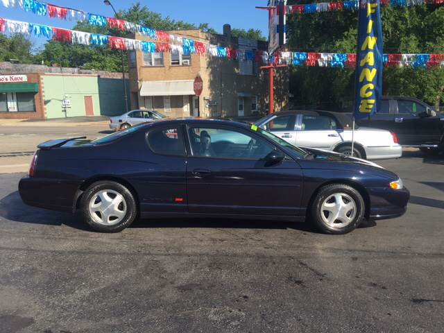 2001 Chevrolet Monte Carlo SS 2dr Coupe - Akron OH