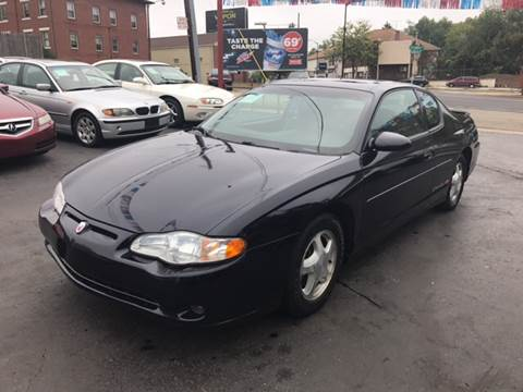2001 Chevrolet Monte Carlo for sale in Akron, OH