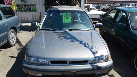 1991 Honda Accord for sale in Lynden, WA