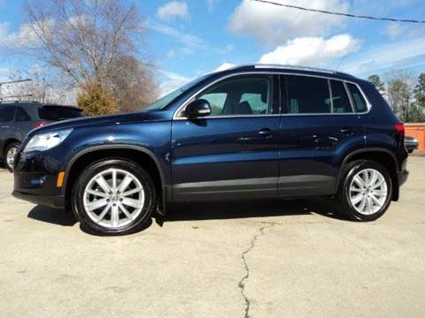 2011 Volkswagen Tiguan for sale in Wake Forest, NC