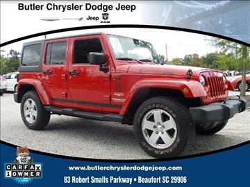 2012 Jeep Wrangler Unlimited for sale in Beaufort, SC