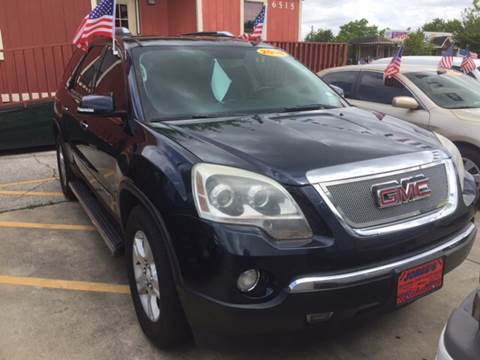 2008 GMC Acadia for sale at JORGE'S MECHANIC SHOP & AUTO SALES in Houston TX