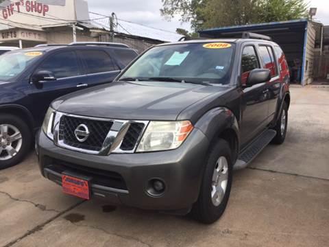 2008 Nissan Pathfinder for sale at JORGE'S MECHANIC SHOP & AUTO SALES in Houston TX
