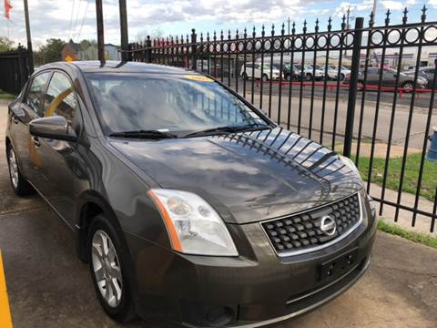 2007 Nissan Sentra for sale at JORGE'S MECHANIC SHOP & AUTO SALES in Houston TX