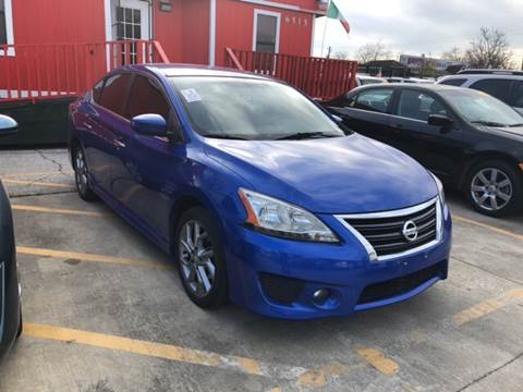 2013 Nissan Sentra for sale at JORGE'S MECHANIC SHOP & AUTO SALES in Houston TX