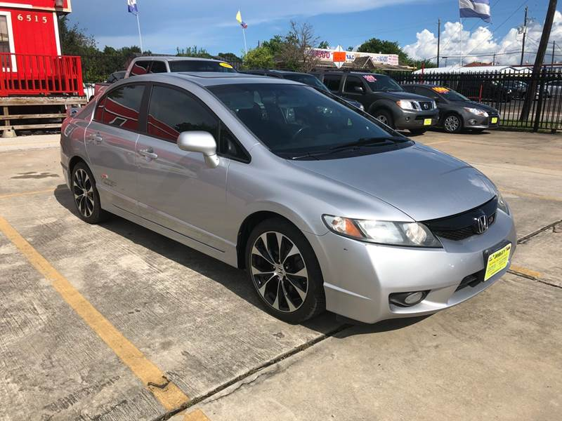 2009 Honda Civic Si 4dr Sedan   Houston TX
