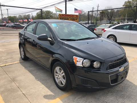 2014 Chevrolet Sonic for sale at JORGE'S MECHANIC SHOP & AUTO SALES in Houston TX