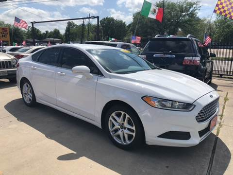 2014 Ford Fusion for sale at JORGE'S MECHANIC SHOP & AUTO SALES in Houston TX