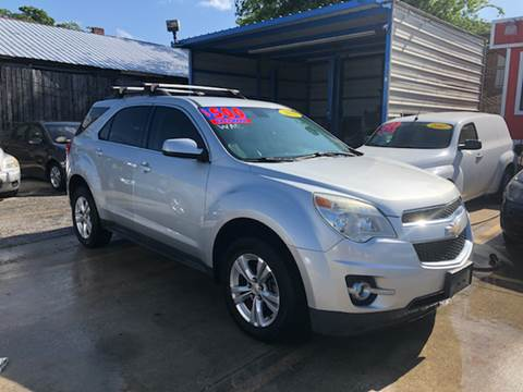 2011 Chevrolet Equinox for sale at JORGE'S MECHANIC SHOP & AUTO SALES in Houston TX