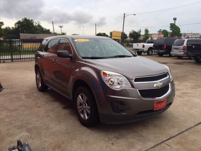 2010 Chevrolet Equinox for sale at JORGE'S MECHANIC SHOP & AUTO SALES in Houston TX