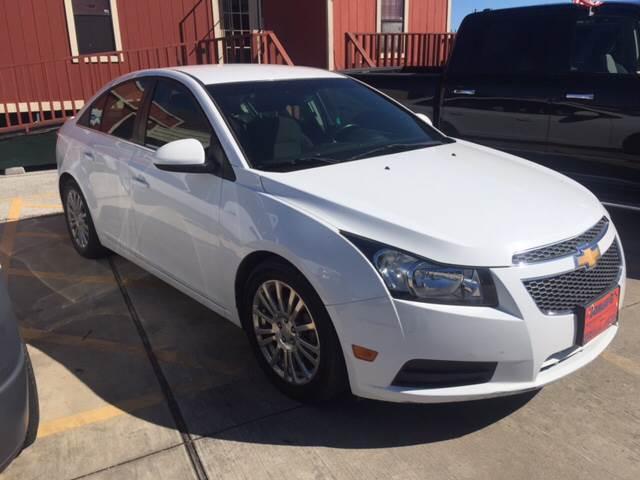 2012 Chevrolet Cruze for sale at JORGE'S MECHANIC SHOP & AUTO SALES in Houston TX