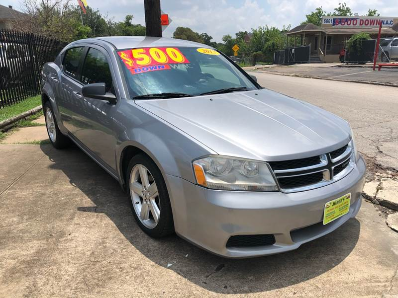 2013 Dodge Avenger Se >> 2013 Dodge Avenger Se 4dr Sedan In Houston Tx Jorge S