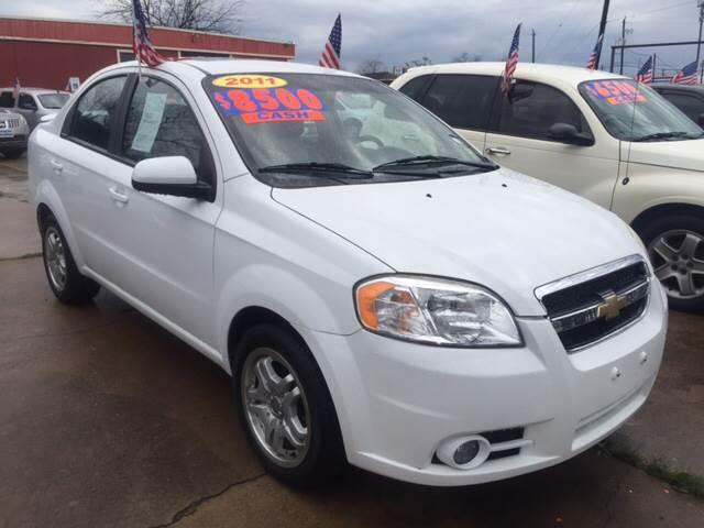 2011 Chevrolet Aveo for sale in Houston, TX