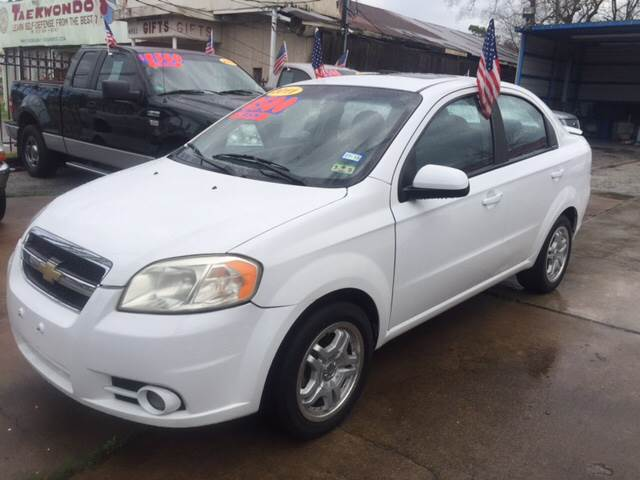 2011 Chevrolet Aveo for sale at JORGE'S MECHANIC SHOP & AUTO SALES in Houston TX