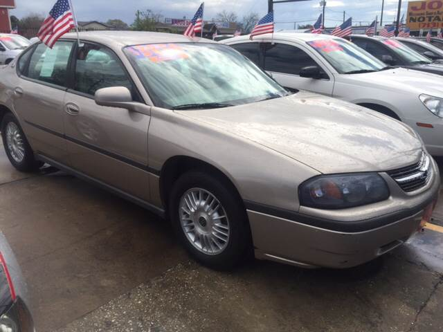 2001 Chevrolet Impala for sale at JORGE'S MECHANIC SHOP & AUTO SALES in Houston TX