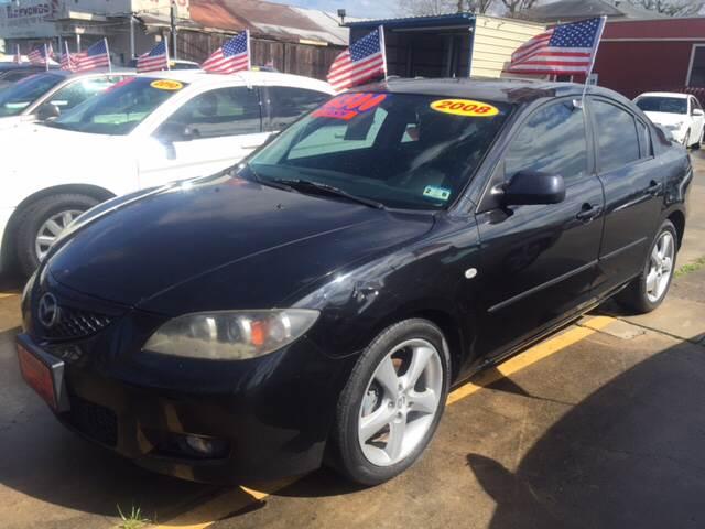 2008 Mazda MAZDA3 for sale at JORGE'S MECHANIC SHOP & AUTO SALES in Houston TX
