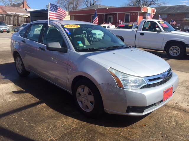 2008 Ford Focus for sale at JORGE'S MECHANIC SHOP & AUTO SALES in Houston TX