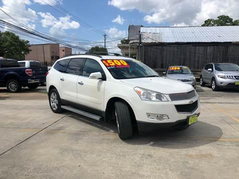 2011 Chevrolet Traverse for sale at JORGE'S MECHANIC SHOP & AUTO SALES in Houston TX