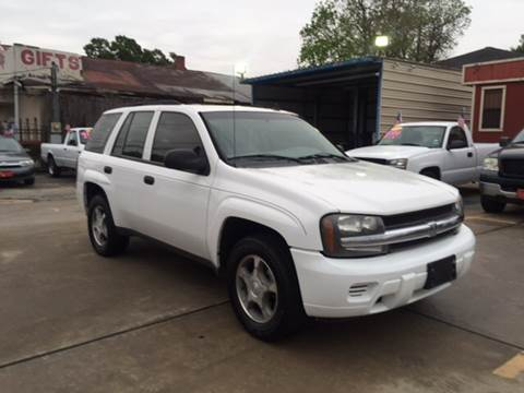 2006 Chevrolet TrailBlazer for sale at JORGE'S MECHANIC SHOP & AUTO SALES in Houston TX