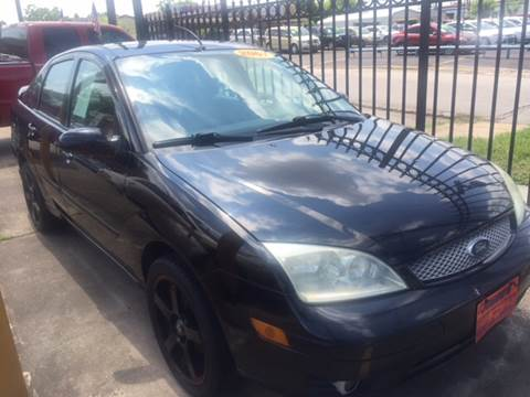2007 Ford Focus for sale at JORGE'S MECHANIC SHOP & AUTO SALES in Houston TX