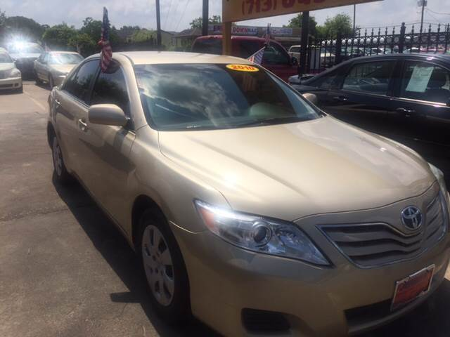 2010 Toyota Camry for sale at JORGE'S MECHANIC SHOP & AUTO SALES in Houston TX
