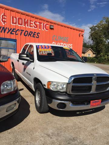 2005 Dodge Ram Pickup 1500 for sale at JORGE'S MECHANIC SHOP & AUTO SALES in Houston TX