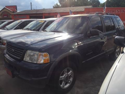 2002 Ford Explorer for sale at JORGE'S MECHANIC SHOP & AUTO SALES in Houston TX