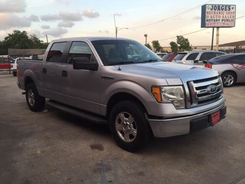 2010 Ford F-150 for sale at JORGE'S MECHANIC SHOP & AUTO SALES in Houston TX