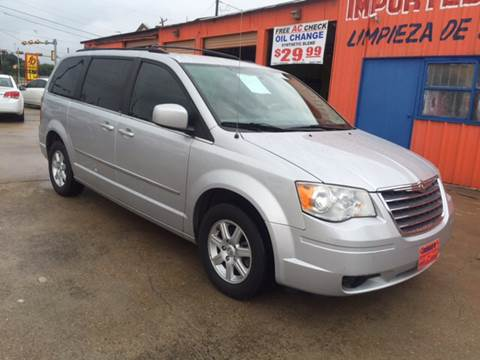 2010 Chrysler Town and Country for sale at JORGE'S MECHANIC SHOP & AUTO SALES in Houston TX