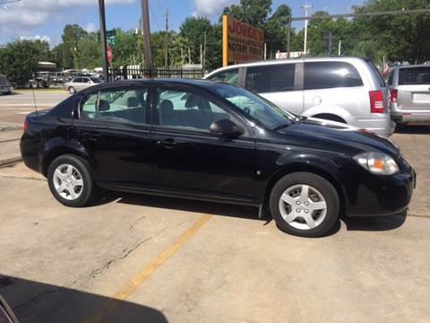 2008 Chevrolet Cobalt for sale at JORGE'S MECHANIC SHOP & AUTO SALES in Houston TX