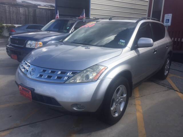2003 Nissan Murano for sale at JORGE'S MECHANIC SHOP & AUTO SALES in Houston TX
