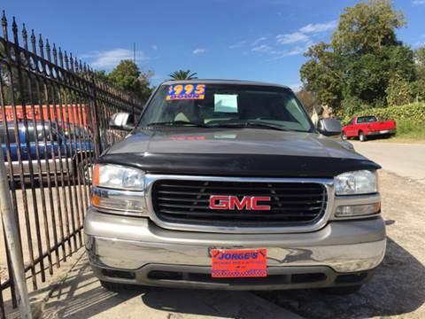 2001 GMC Yukon XL for sale at JORGE'S MECHANIC SHOP & AUTO SALES in Houston TX