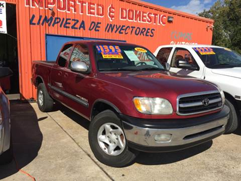 2001 Toyota Tundra for sale in Houston, TX