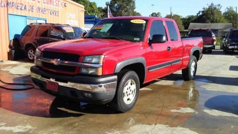 2005 Chevrolet Silverado 1500 for sale at JORGE'S MECHANIC SHOP & AUTO SALES in Houston TX
