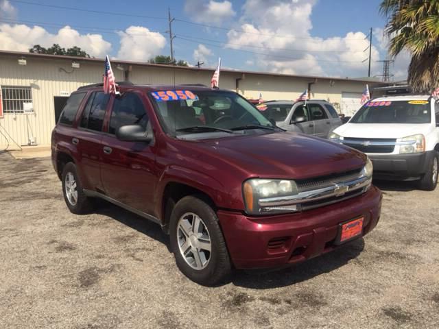 2005 Chevrolet TrailBlazer for sale at JORGE'S MECHANIC SHOP & AUTO SALES in Houston TX