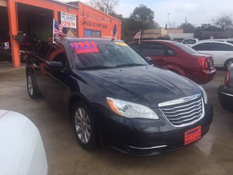2011 Chrysler 200 for sale at JORGE'S MECHANIC SHOP & AUTO SALES in Houston TX